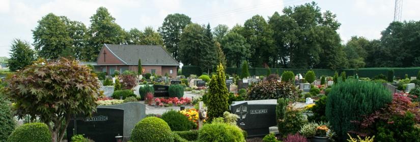 Friedhof Lingen Bramsche St. Gertrudis