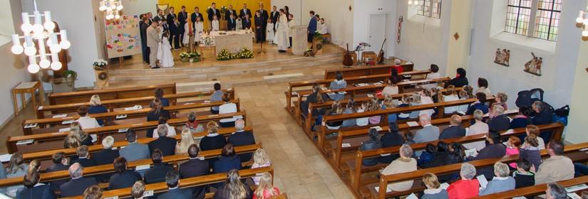 Blick in die Gertrudiskirche