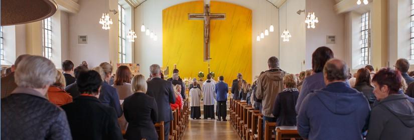 St. Gertrudis Messe